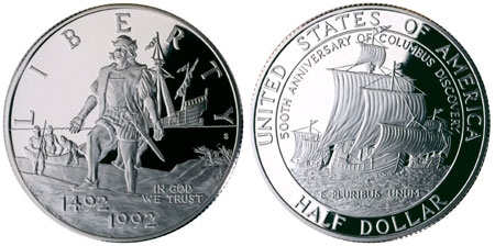 1992 Christopher Columbus Commemorative Coins Coin Update