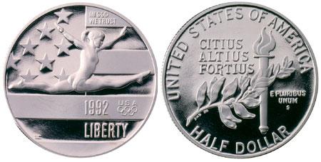 1992 Olympic Half Dollar
