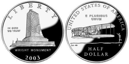 2003 First Flight Half Dollar