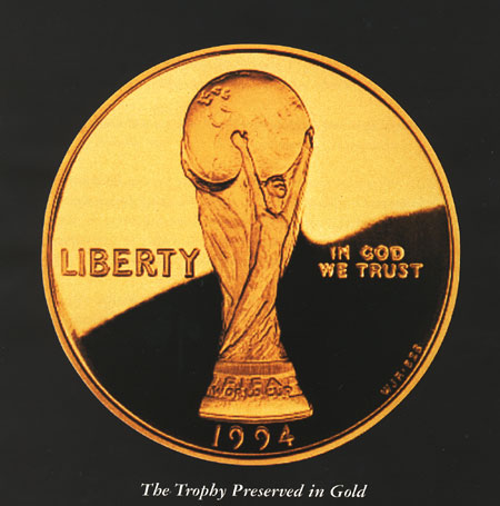 world cup gold trophy