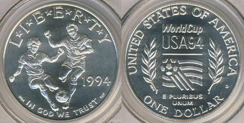 1994 World Cup Silver Dollar