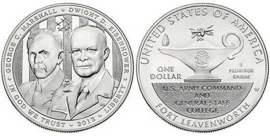 5 Star Generals Silver Dollar