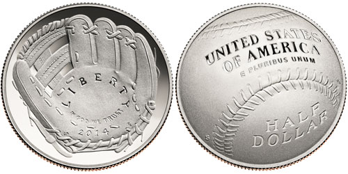 2014 National Baseball Hall of Fame Half Dollar